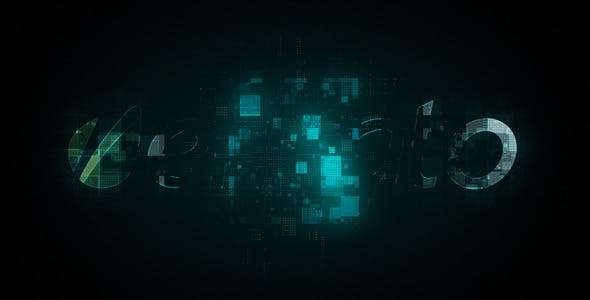 Videohive 8230918 - Digital Logo Reveal - After Effect Template