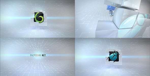 Videohive 20617175 - Clean Cubes Logo Reveal - After Effect Template