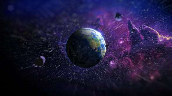 Videohive 22028251 - Earth Logo Reveal - After Effect Template