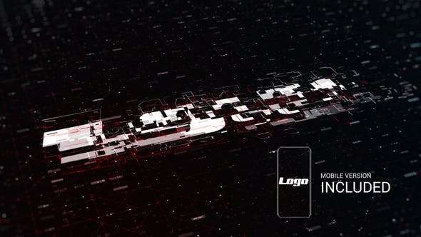 Videohive 23754080 - Digital Logo Reveal - After Effect Template