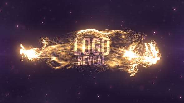 Videohive 23555692 - Particles Swirls Reveal - After Effect Template