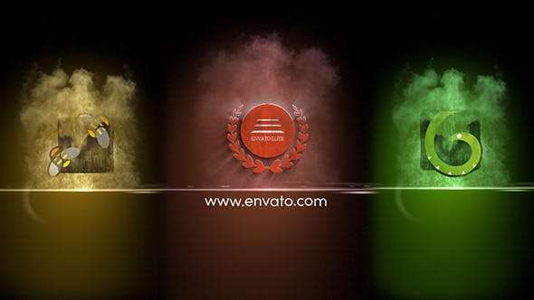 Videohive 21479687 - Colorful Particles Logo Reveal - After Effect Template