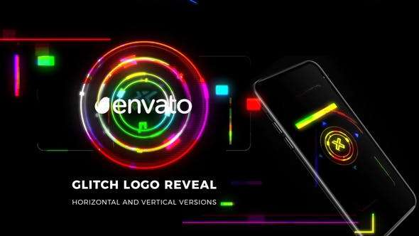Videohive 23872289 - Glitch Logo Reveal - After Effect Template