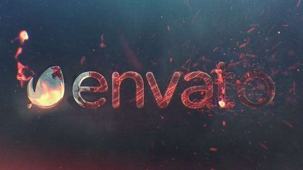 Videohive 22408582 - Burn Logo Reveal - After Effect Template