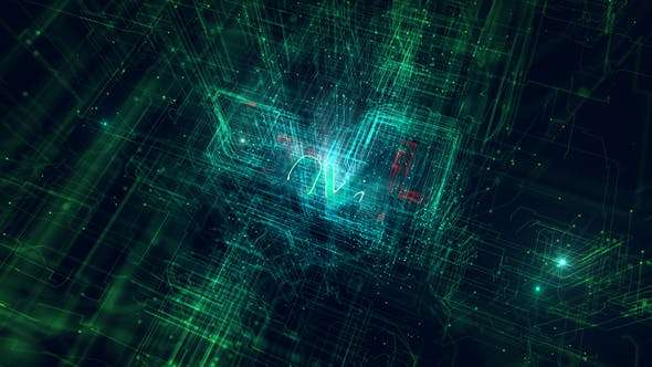 Videohive 22553011 - Network Logo Reveal - After Effect Template