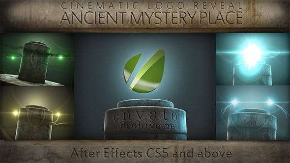 Videohive 7808394 - Ancient Mystery Place - Cinematic Logo Reveal - After Effect Template