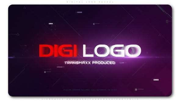 Videohive 23733547 - Digital Logo Reveal - After Effect Template