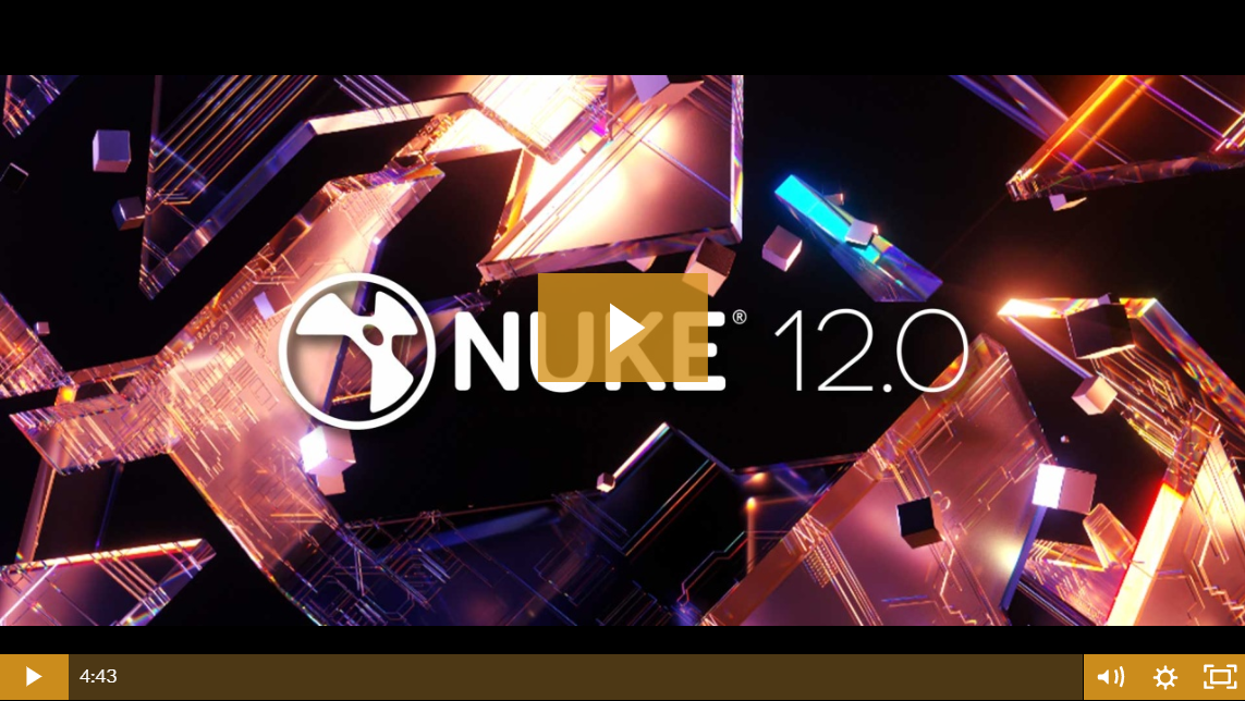 The Foundry Nuke Studio 12.0 (Win/Mac) - Vfx Compositing Sofware