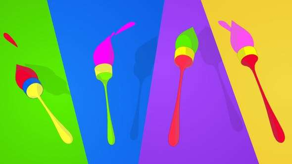 Videohive 11965731 - Playful Brush logo - After Effect Template