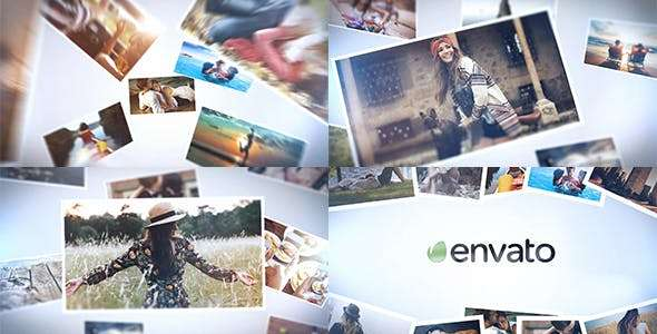 Videohive 19481016 - Elegant Photo Logo - After Effect Template