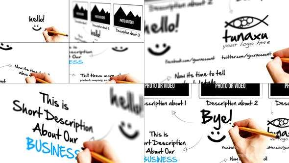 Videohive 2974845 - Sketch Presentation - After Effect Template
