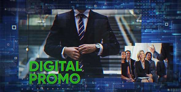 Videohive 21557864 - Digital Promo - After Effect Template