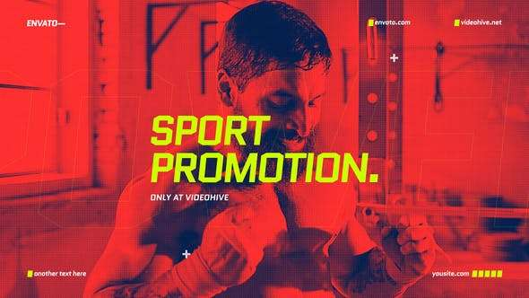 Videohive 24678743 - Sport Promo Opener - After Effect Template