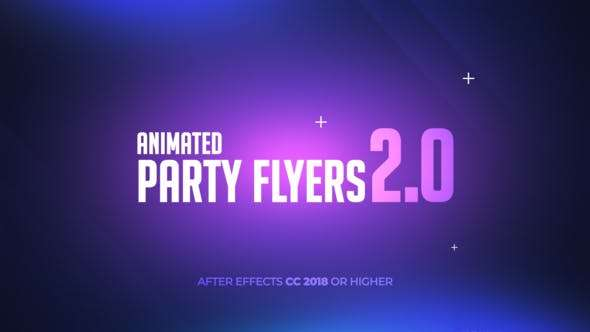 Videohive 24684641 - Animated Party Flyers 2.0 - After Effect Template