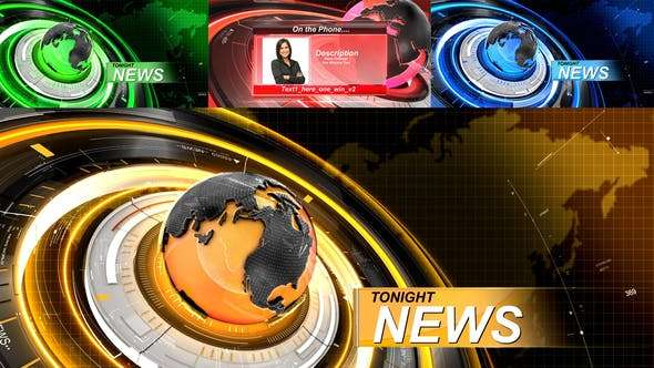 Videohive 19761693 - News - Package - After Effect Template