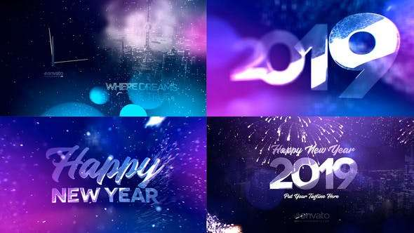 Videohive 21069761 - New Year Countdown 2019 - After Effect Template