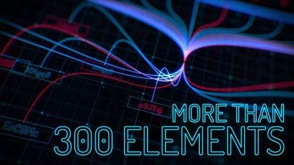 Videohive 15307433 - Sci-fi Interface HUD Package 2 - After Effect Template