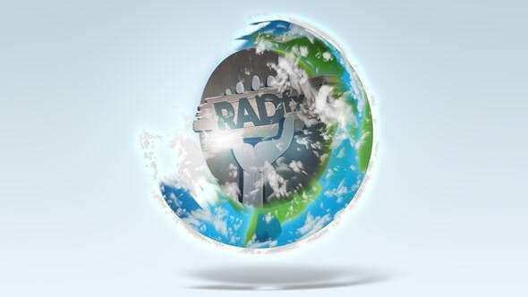 Videohive 24179947 - Earth Logo Reveal - After Effect Template