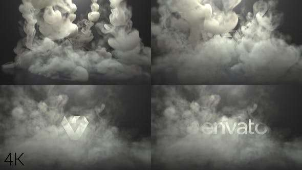 Videohive 22827760 - Smoke Logo - After Effect Template