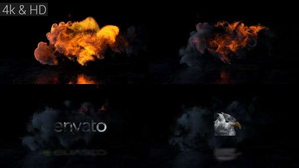 Videohive 20652787 - Fire Action Logo - After Effect Template