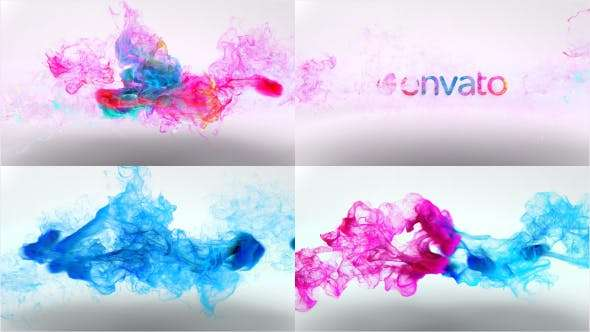Videohive 15854927 - Colorful Particles Logo Reveal v3 - After Effect Template