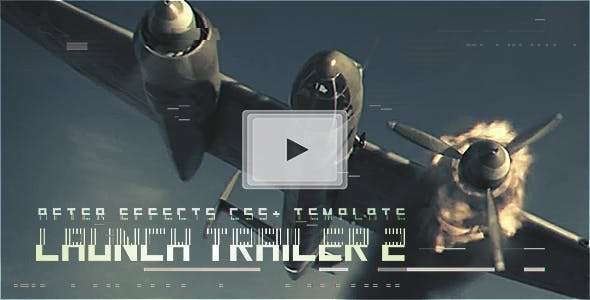 Videohive 19178842 - Launch Trailer 2 - After Effect Template