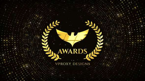 Videohive 24495823 - Awards Glitters Logo - After Effect Template