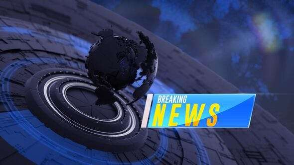 Videohive 24531455 - Breaking News Opener - After Effect Template