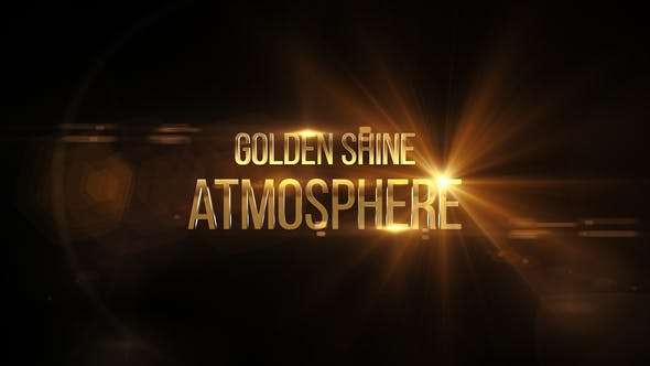 Videohive 23154619 - Cinematic Title Trailer Gold & Silver - After Effect Template