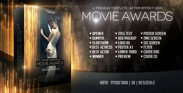 Videohive 12426216 - Movie Awards Bundle - After Effect Template