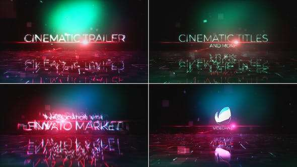 Videohive 22135424 - Cinematic Trailer/Titles +Bonus - After Effect Template