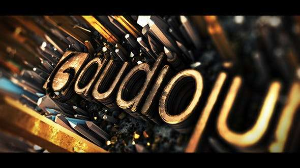 Videohive 21019282 - Cinematic Crystal Logo Reveal - After Effect Template