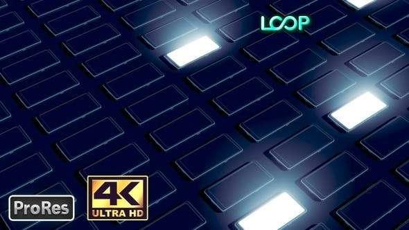 Videohive 24669893 - Phones - 4K Background Loop - Footage
