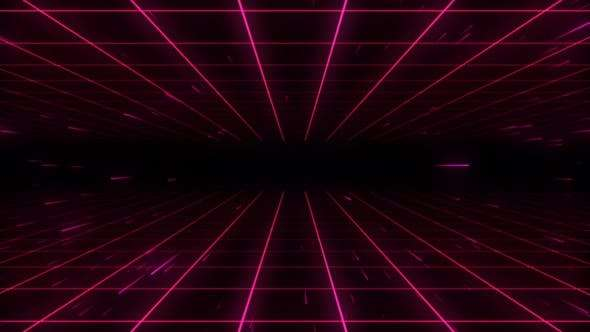 Videohive 24668051 - 80s Retro Background 07 4K - Footage