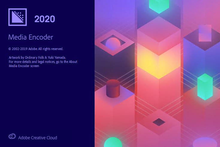 Adobe Media Encoder CC 2020 (WIN) - Công cụ hỗ trợ render nhanh