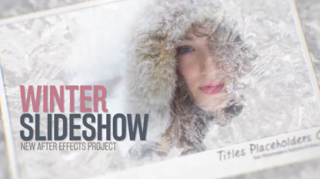 Winter Slideshow - After Effects - Envato Elements