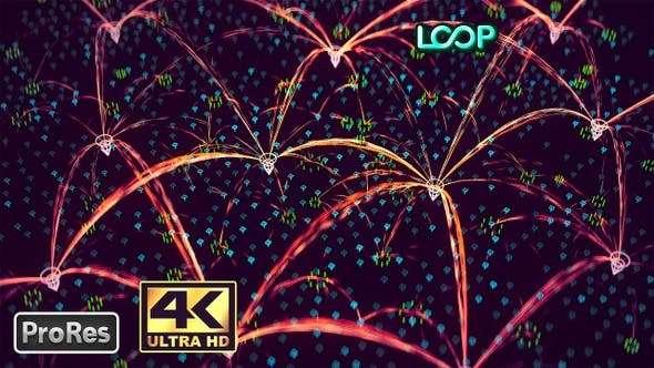 Videohive 24590608 - Network 4K - Footage