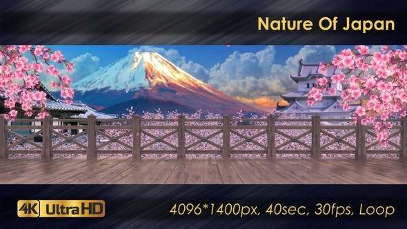 Videohive 23814110 - Nature Of Japan - Footage