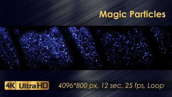 Videohive 21829724 - Magic Particles - Footage