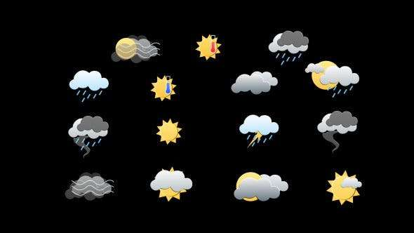 Icon weather Pack
