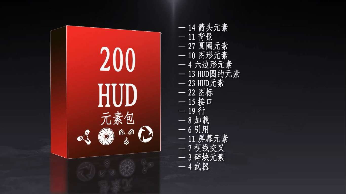 HUD Modern 200 Pack pic After Effects News Update