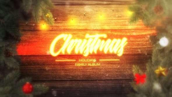 Magic Christmas Slideshow | After Effects template VFXVIET News