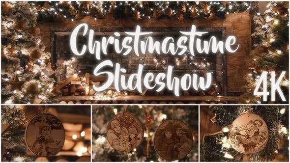 Christmas Time Slideshow 4K Adobe Premiere Pro