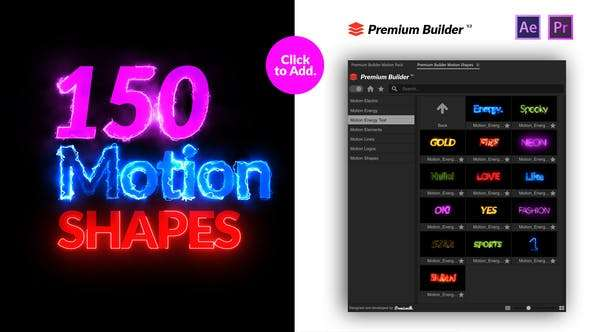Motion Shapes Pack