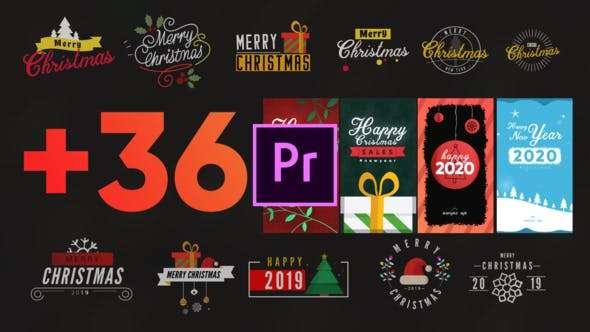 Christmas Elements Pack-MOGRT