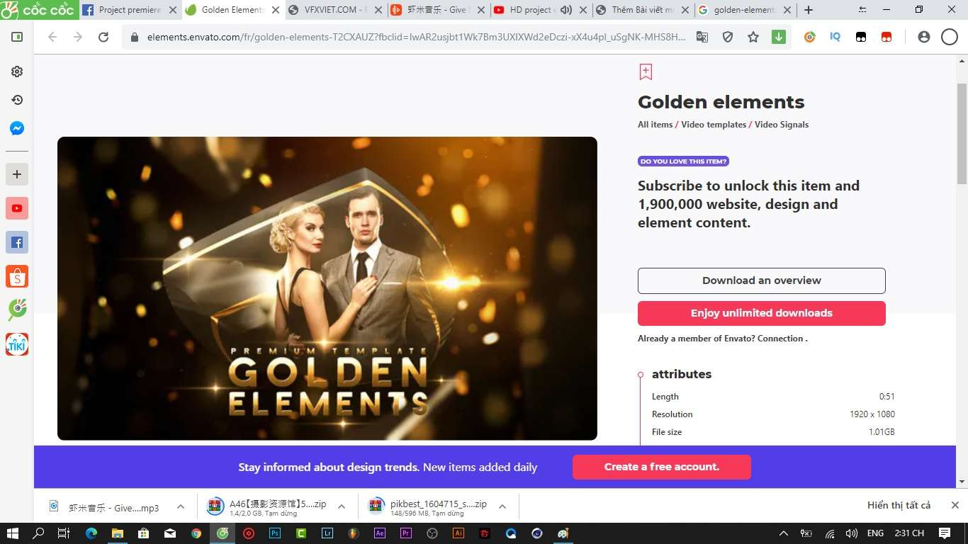 Golden elements wedding
