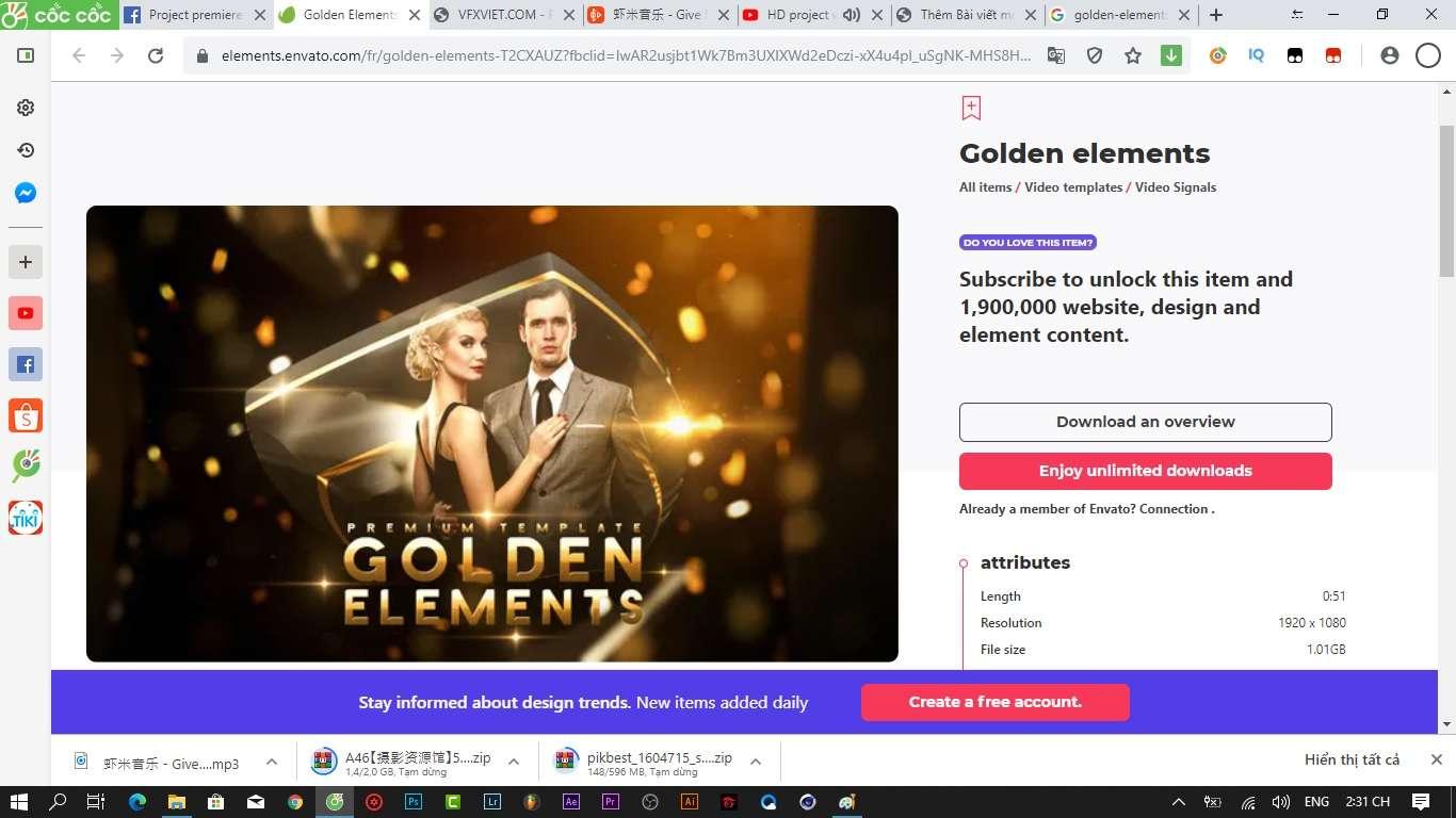 Golden elements wedding