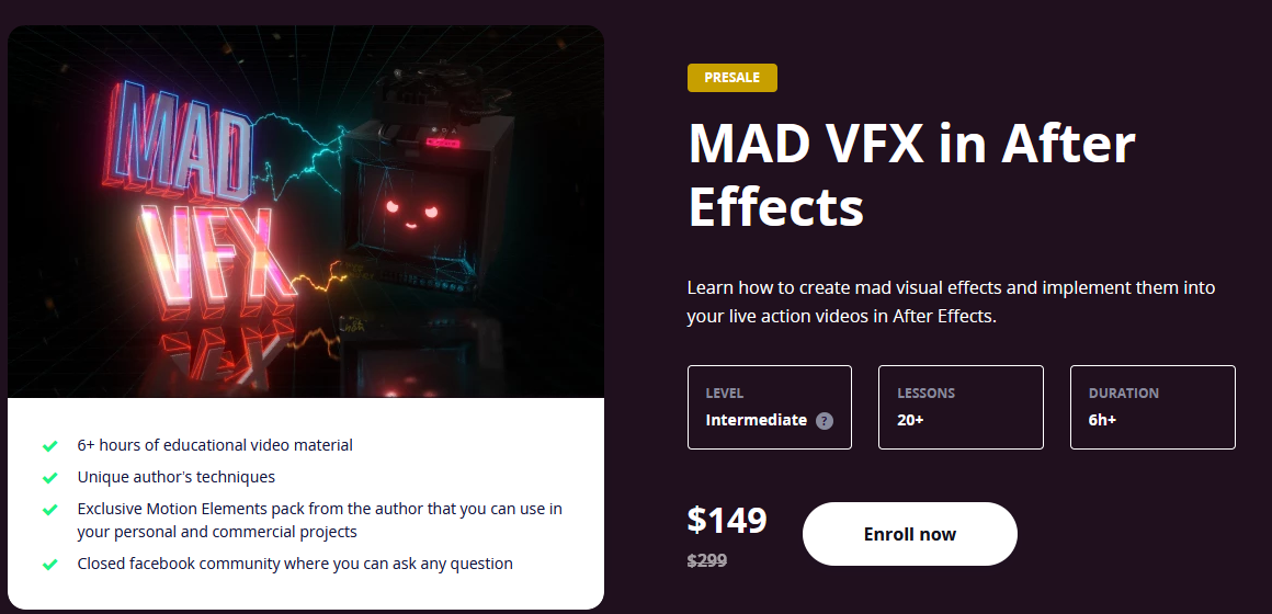 Motiondesign mad vfx