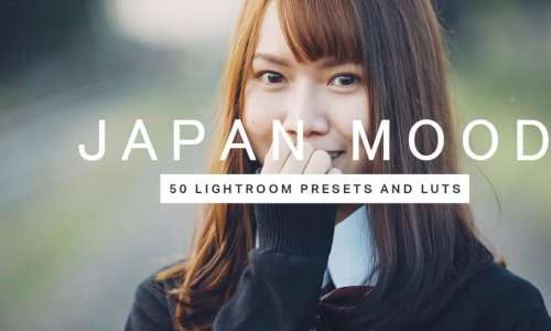 50 Japan Mood Lightroom Presets LUTs Mobile OBS PC