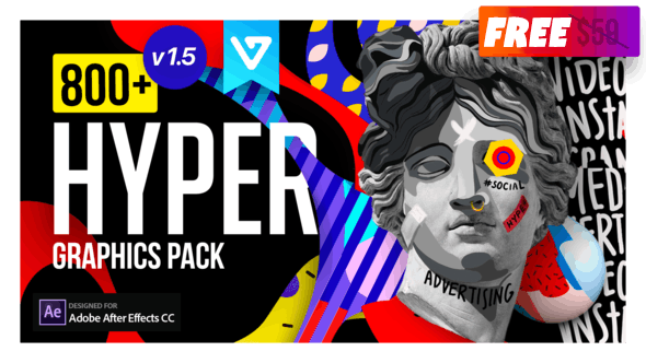 Hyper - Graphics Pack v1.5 24835354 Videohive | Free Download After Effects Templates